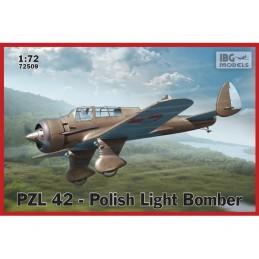 IBG72509 1/72 PZL 42-Polish...