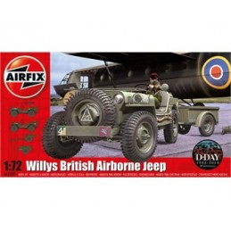 A02339 Willys Jeep, Trailer...