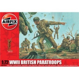A01723 British Paratroops 1/72