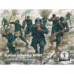 ap043 Fanteria italiana WWI...