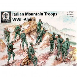 ap057 Alpini WWI scala 1-72