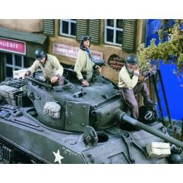 VE1619 US Tank Crew WWII...