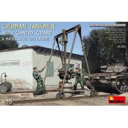 MA35350 GERMAN TANKMEN WITH...